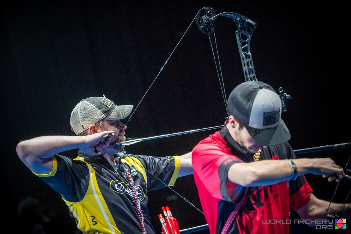 Brady Ellison shoots his way to gold at the Sud de France – Nimes Archery Tournament in 2020.