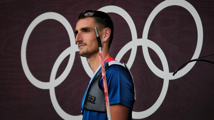 Romain Girouille at the London 2012 Olympic Games.