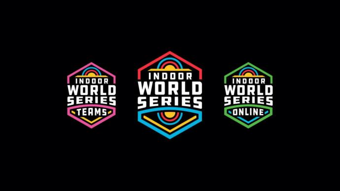Indoor World Series logo triple.