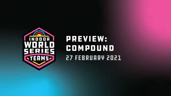 Preview frame: Compound at the 2021 Indoor Archery World Series.